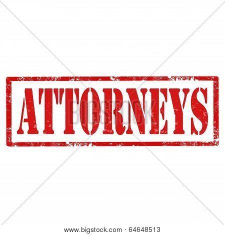 Attorneys-stamp
