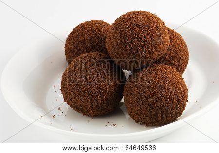 Image Of Chocolate Balls