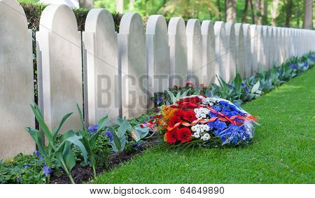 Rows Of Tombstones