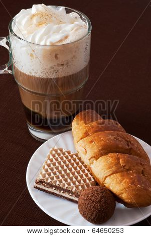Viennese Coffee With Desserts