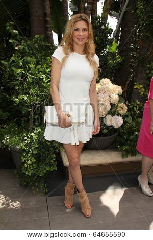 LOS ANGELES - MAY 7:  Brandi Glanville at the Associates for Breast and Prostate Cancer Studies Mothers Day Luncheon at Four Seasons Hotel on May 7, 2014 in Beverly Hills, CA