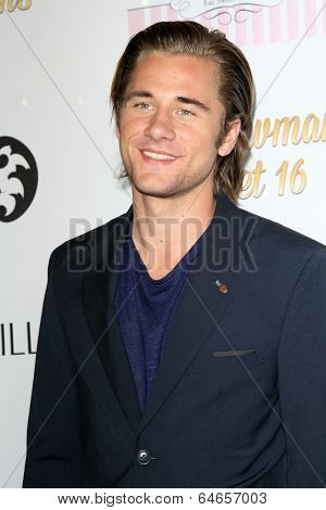 LOS ANGELES - APR 27:  Luke Benward at the Ryan Newman's Glitz and Glam Sweet 16 birthday party at Emerson Theater on April 27, 2014 in Los Angeles, CA