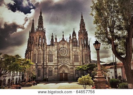 Cathedral In Arucas, Gran Canaria