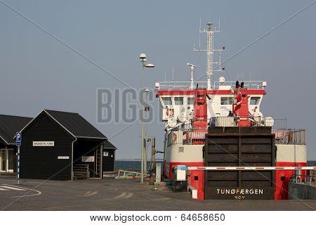 Hov harbor Denmark