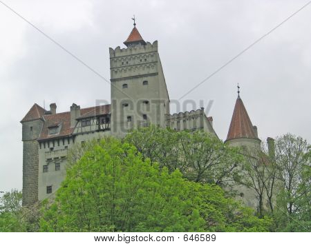 Dracula's Castle In Romania