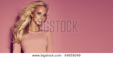 Smiling Blonde Woman