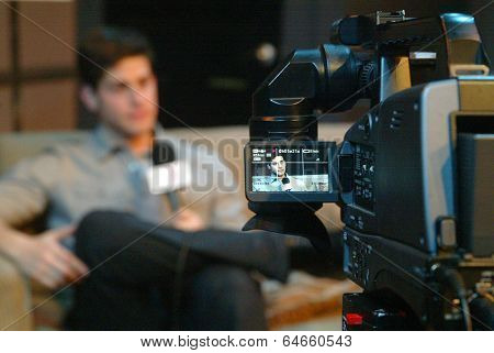 HOLLYWOOD, MAY 6: David Blue is interviewd by