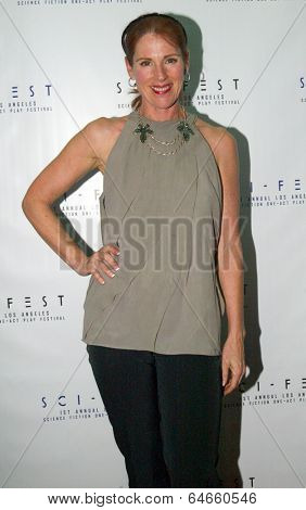 HOLLYWOOD, MAY 6: Patricia Tallman arrives for the post party after opening night of Sci-Fest at the ACME Theatre in Hollywood, CA on May 6, 2014.