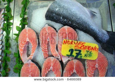 fish at market