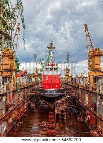 Shipbuilding, Ship Repair