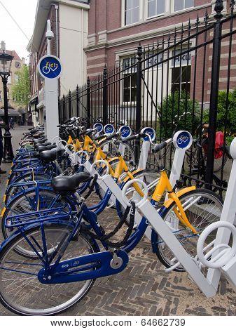 Bike Share In Utrecht