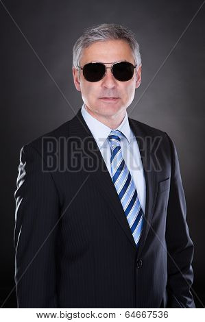 Portrait Of Male Body Guard