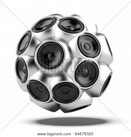 audio speakers sphere
