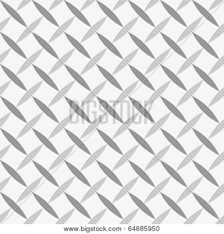 Seamless Geometric Pattern Diagonal Seeds Grey