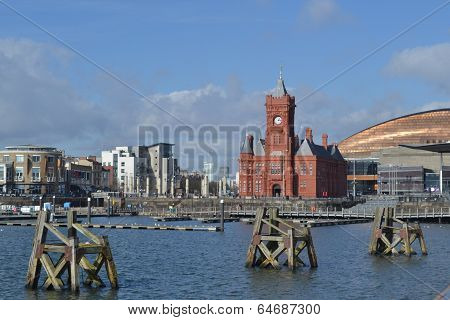 View of Cardiff Bay, Wales