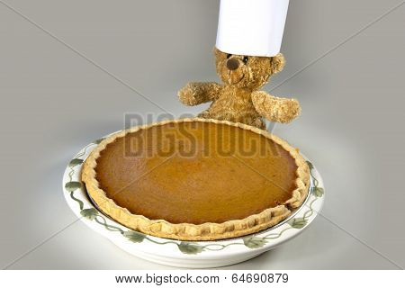 Pumpkin Pie with Chef Bear