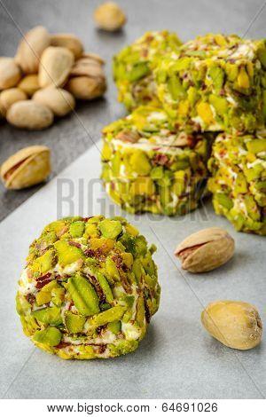 Turkish pistachio dessert