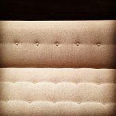 stock photo of futon  - Close - JPG