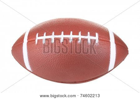 Rugby ball isolated on white