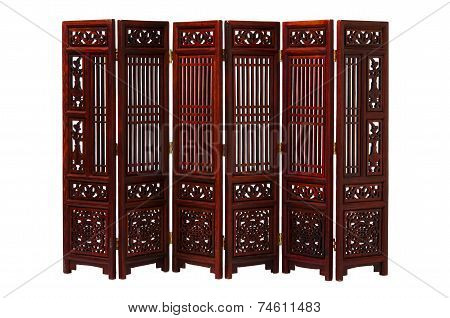 Indoors quality furnitures Chinese screen