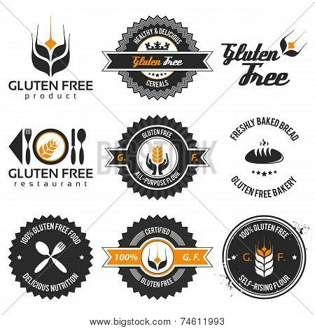 Gluten Free Label Set