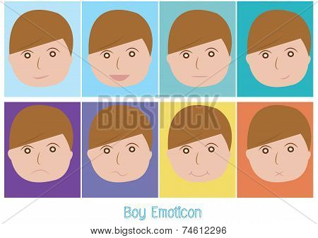 Boy Emoticon