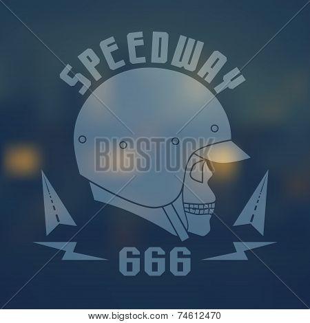 Speedwey 666 Flat Emblem
