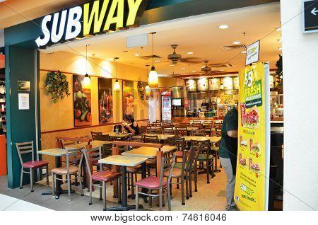 Subway Restaurant In Singapore