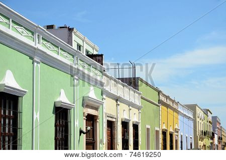 Campeche City In Mexico
