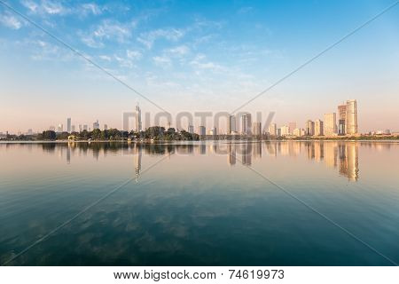City And Lake