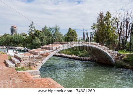 Devil's Bridge At Torcello, Venice