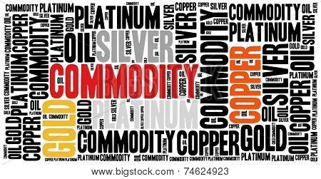 Commodity Stock Market Or Trading Concept.