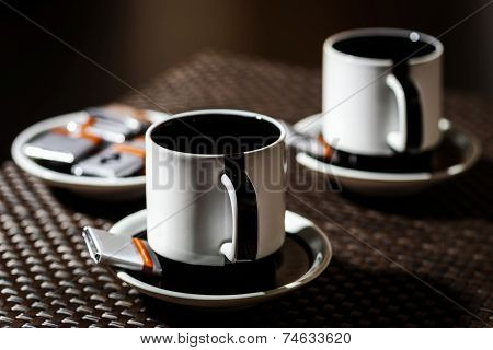 Coffee For Two Persons On The Table