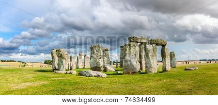 The Prehistoric Monument Of Stonehenge