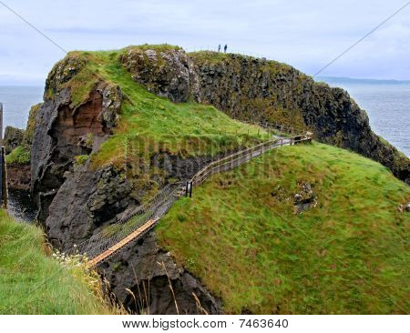 Carrick-a-rede Rope Bridge, Antrim, Northern Ireland