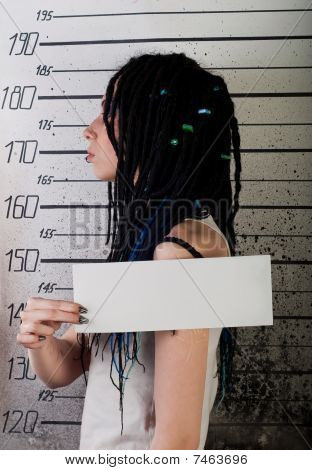Girl In Prison. Profile Photo