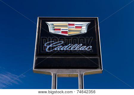 Cadillac Sign And Logo