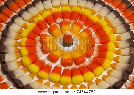 Candy Corn Circles