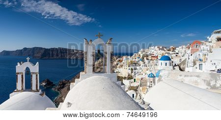 Panorama Of Oia