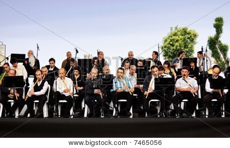 Reed flute orchestra