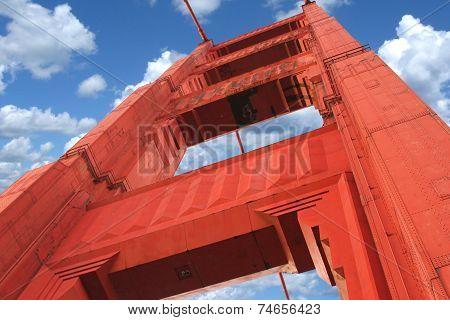 Golden Gate Close Up