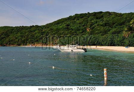Boat in Puerto Rico