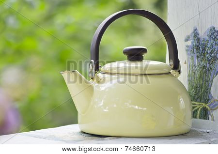Metallic Kettle