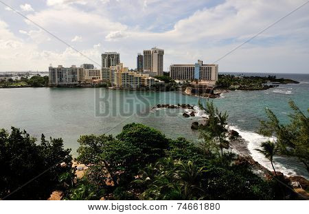Waterfront Hotels in San Juan