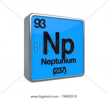 Neptunium Element Periodic Table