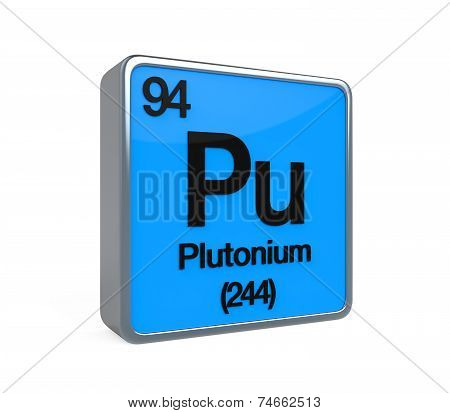 Plutonium Element Periodic Table