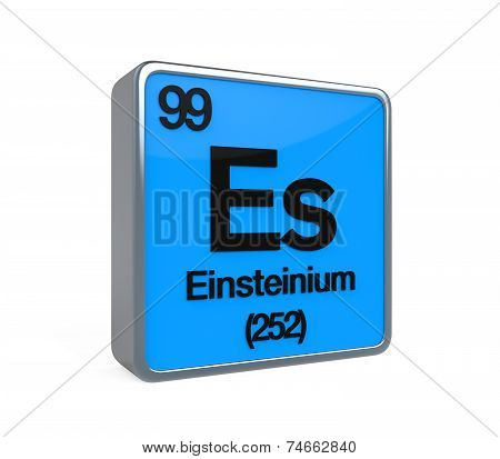 Einstenium Element Periodic Table