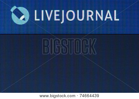 Livejournal Icon On Computer Screen