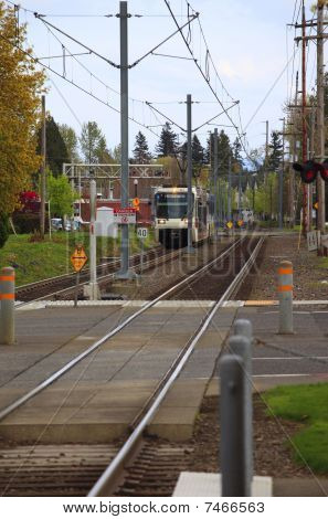Light rail Max, Gresham OR.