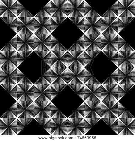 Design Seamless Diamond Grid Pattern